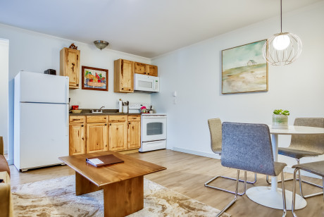 TWO BEDROOM SUITE WITH KITCHEN