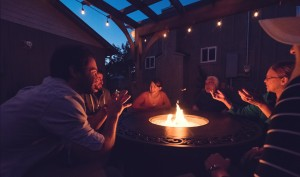 Inn at Haystack Rock - Outdoor Fire Pit
